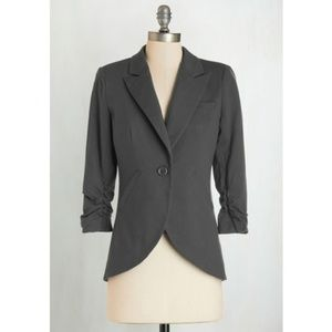 ee0f31d5ced1 Modcloth Jackets & Coats - Fine and Sandy Blazer in Grey [Modcloth]